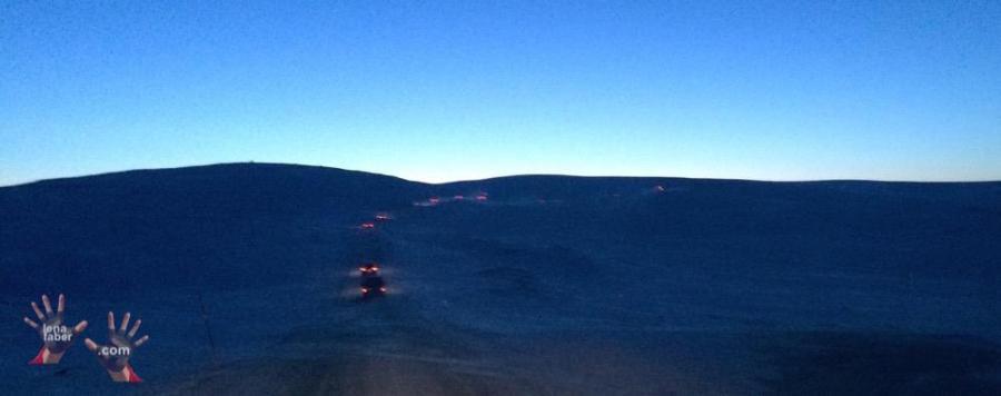 Nordkapp winter convoy