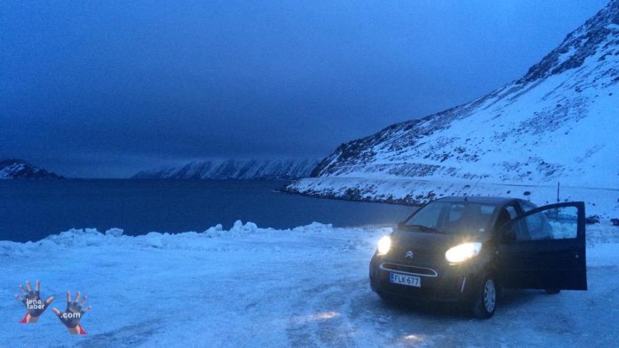 The road to Nordkapp