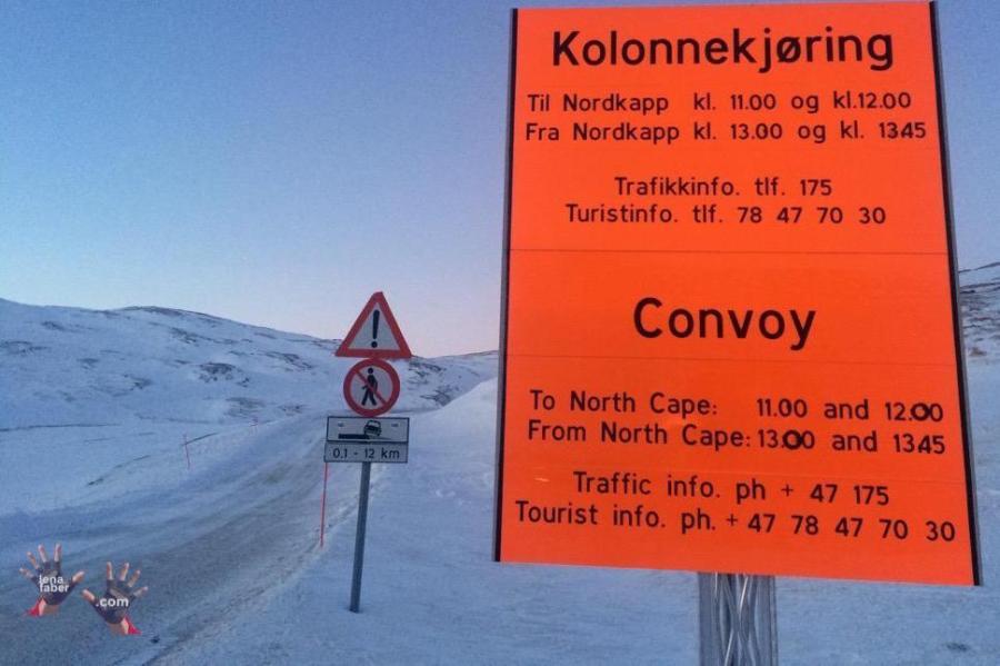 Nordkapp convoi meeting point
