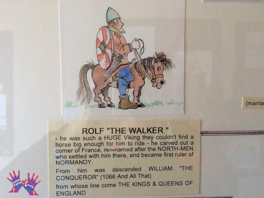 "Rolf the ""walker"", the Orkneyinga Saga Centre"