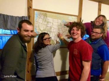 Hikers Hostel at Dick Creek Gap