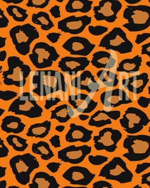 Leopard Seamsless Pattern Cover