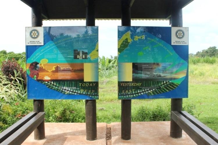 International Dateline Taveuni