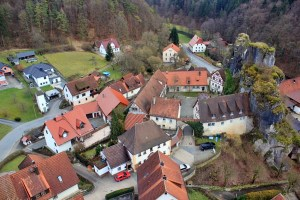 Small Village Franconian Switzerland