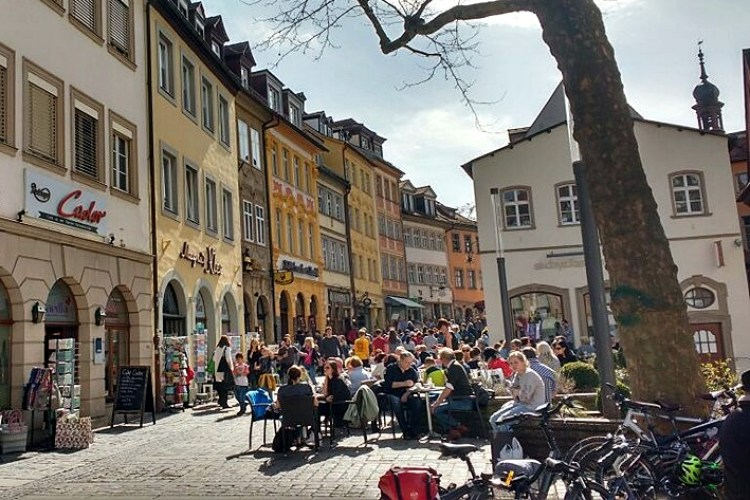 Bamberg Pavement Cafes