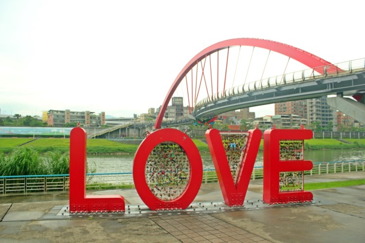 Love Sign & Rainbow Bridge