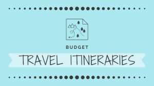 Budget Travel Itineraries