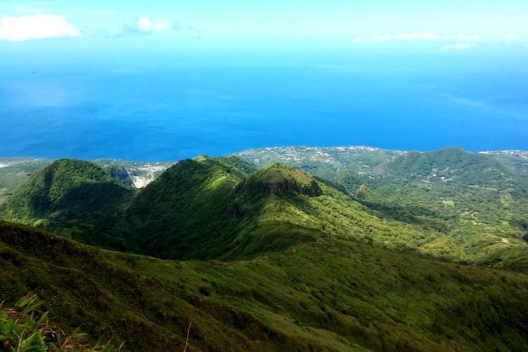 Mount Pelee View