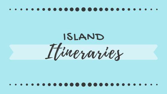 island itineraries