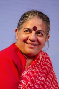 Dr Vandana Shiva Environmentalist