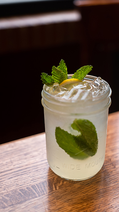 closeup of a unicorn cocktail