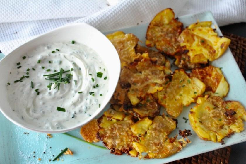 Knusper Quetsch-Kartoffeln