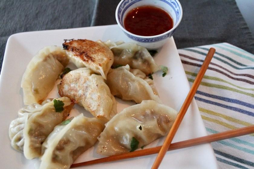 Asiatische Dumplings Gyoza
