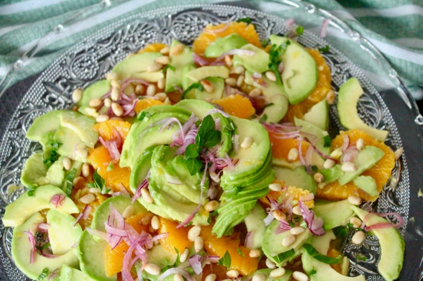 Avocado Orangen Salat