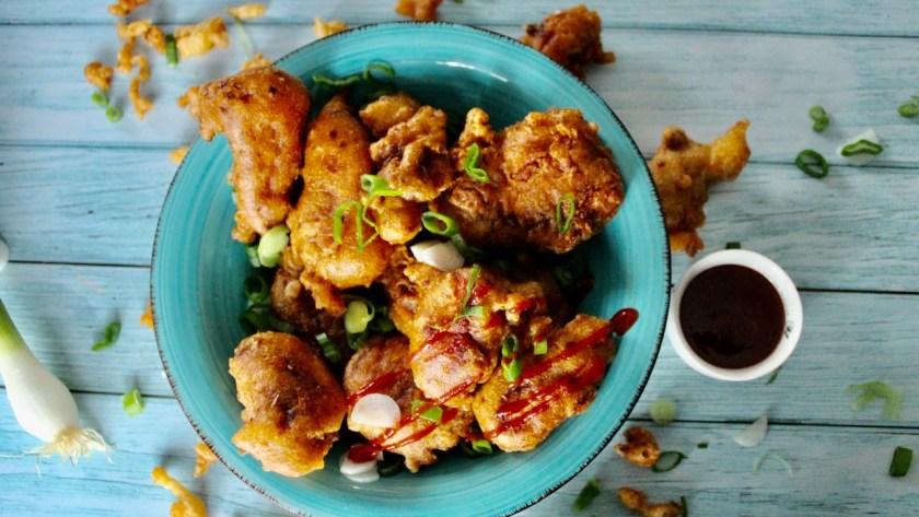 gebackenes Hühnerfleisch