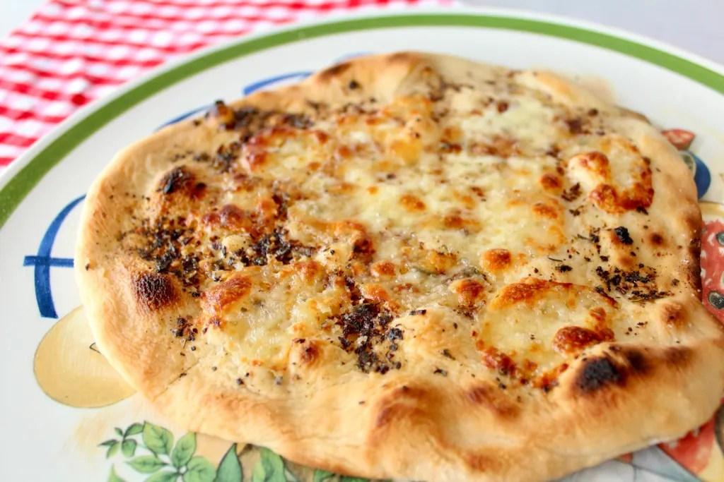 Pizzabrot rund