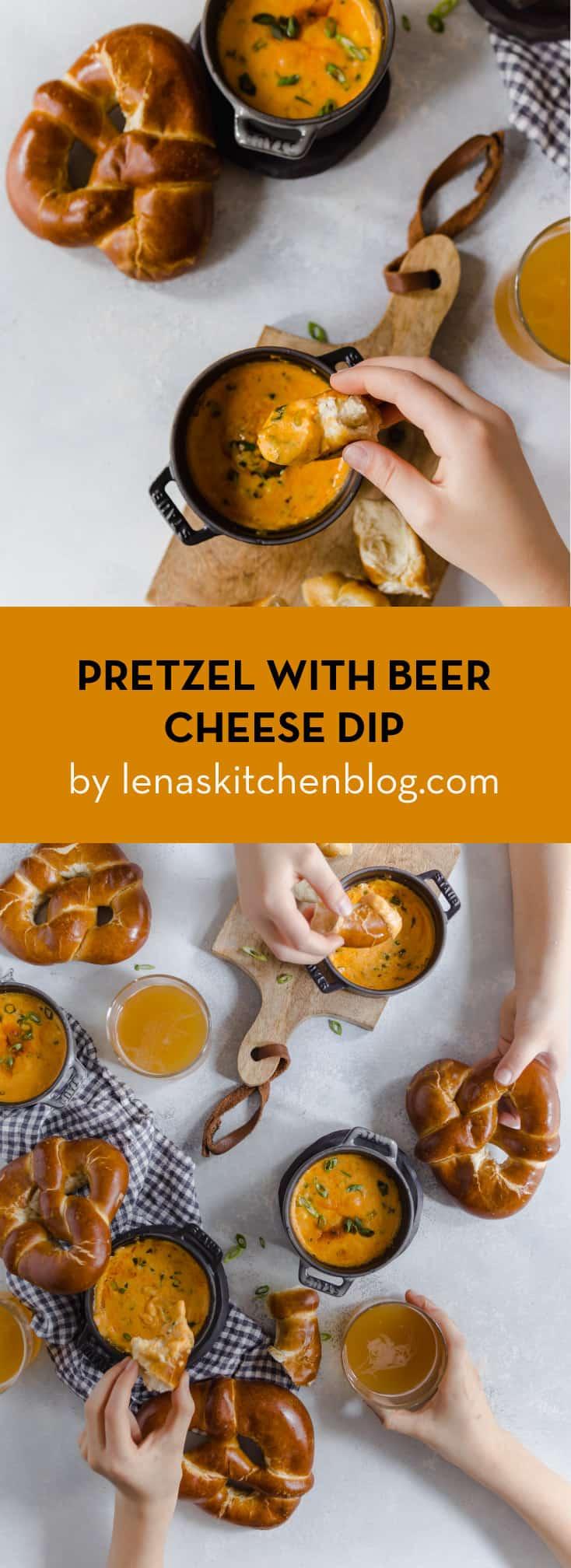 PRETZEL WITH BEER CHEESE