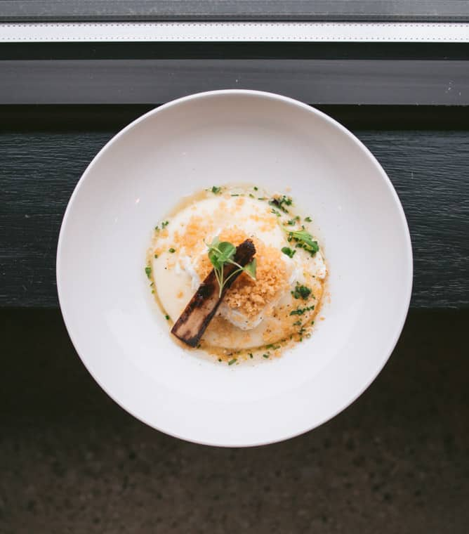 butter poached cod