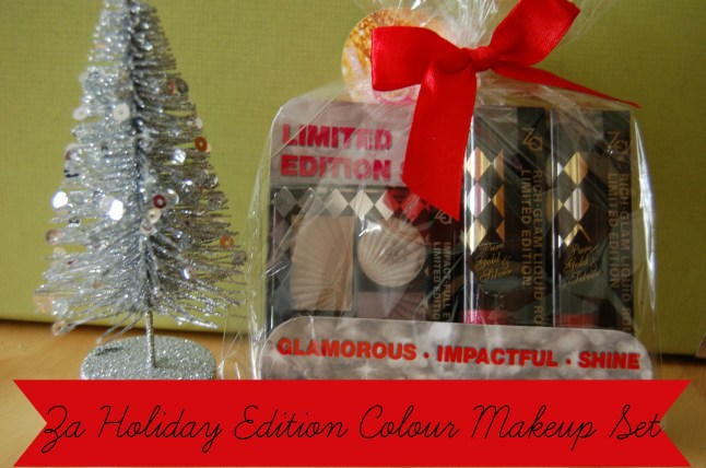 Za Holiday Edition Colour Makeup Set in Pure Silver cover image