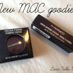 MAC Victorian Plum Pressed Pigment and Zen Rose lipstick