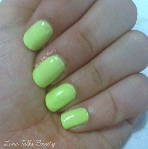 Maybelline 244 Chic Chartreuse