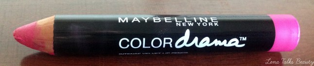 maybelline color drama velvet matte lip pencil 150 fuschia desire