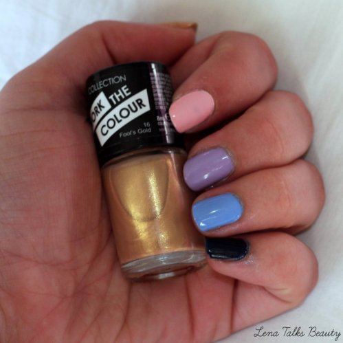Collection Cosmetics fools gold nail polish