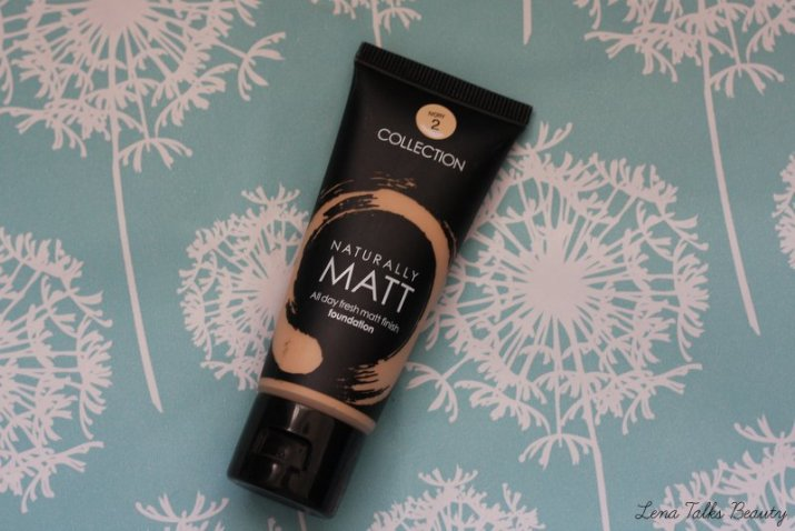 collection naturally matt foundation 2 ivory