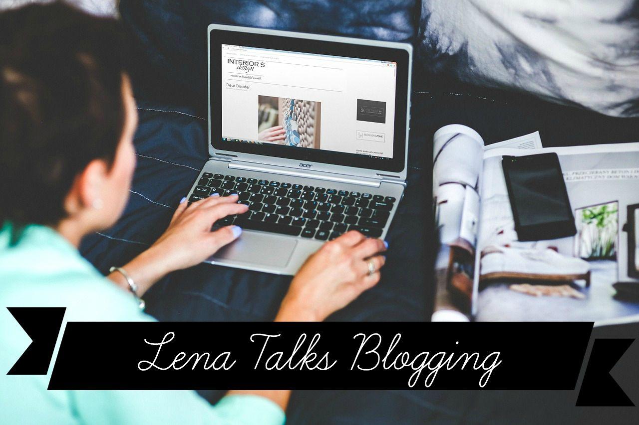 lena talks blogging