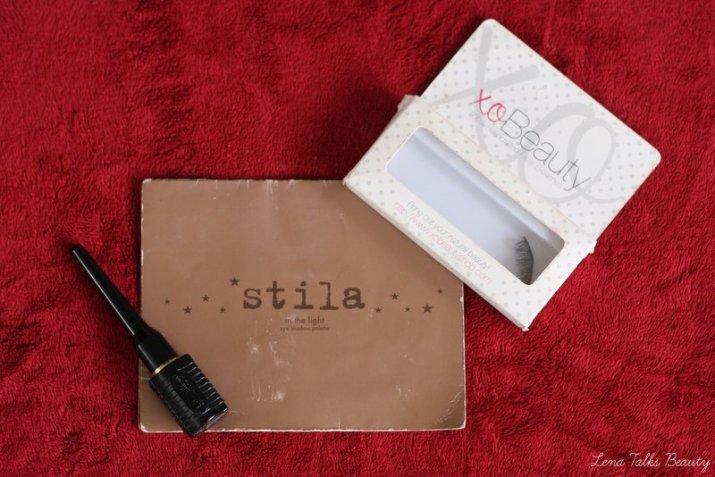 Stila in the light palette, xobeauty eyelashes - Lena Talks Beauty