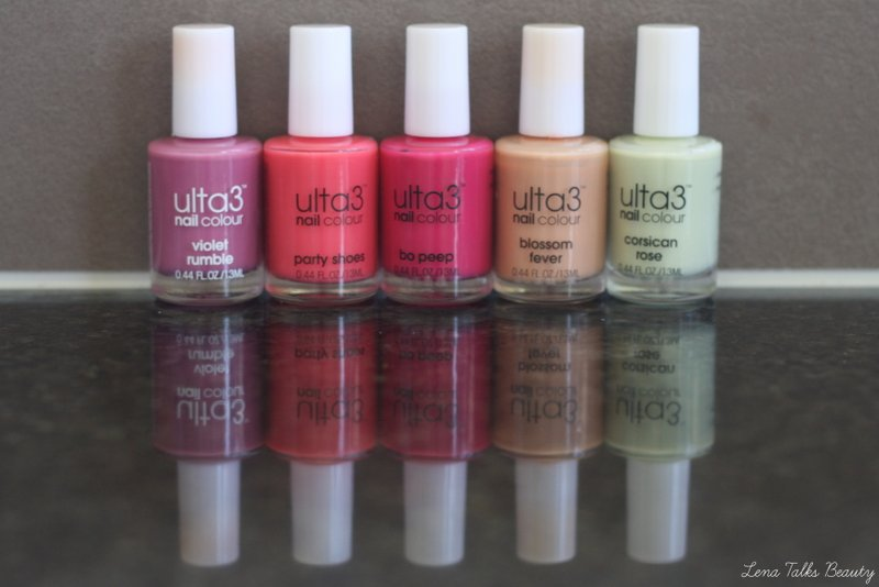 Ulta 3 Nail Polishes - Lena Talks Beauty