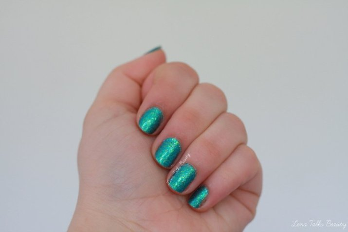 Femme Fatale Jewels From the Deep nail Lacquer - lena talks beauty