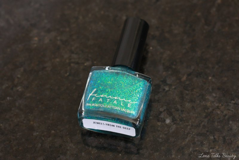 Femme Fatale Jewels From the Deep nail polish - Lena Talks Beauty
