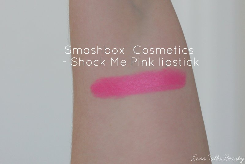 Smashbox Shock Me Pink Swatch - Lena Talks Beauty