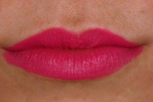 MAC Be Silly lip swatch Flamingo Park - lena talks beauty