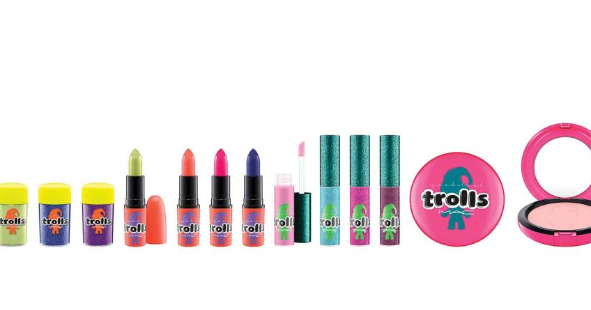 MAC Good Luck Trolls Collection Review - Lena Talks Beauty