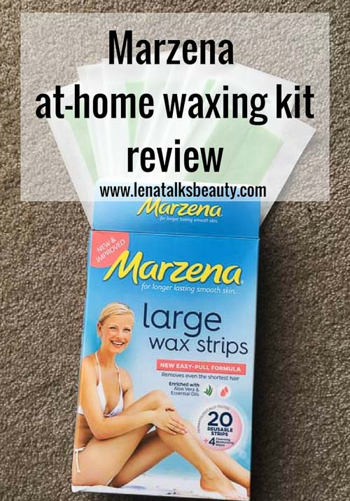 Marzena At Home Waxing Kit Review - Lena Talks Beauty