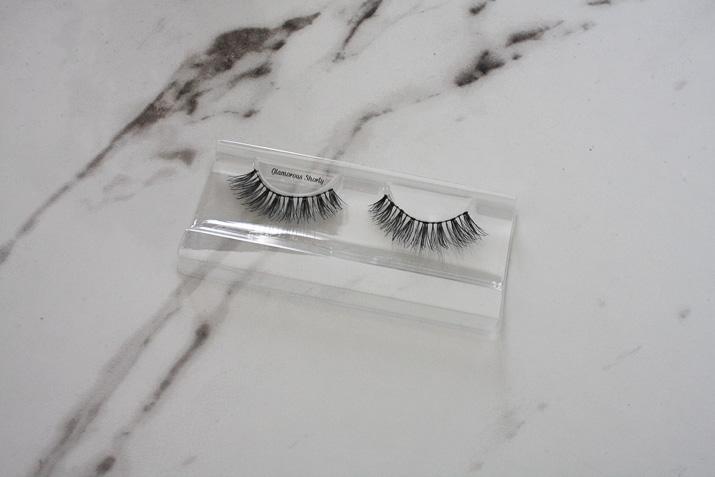 Glamorous Shorty False Eyelashes review by Lena Talks Beauty