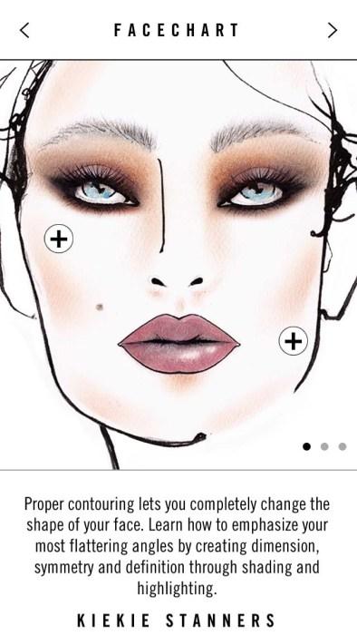 MAC Technique App Face Chart Sculpt and Shade - Lena Talks Beauty