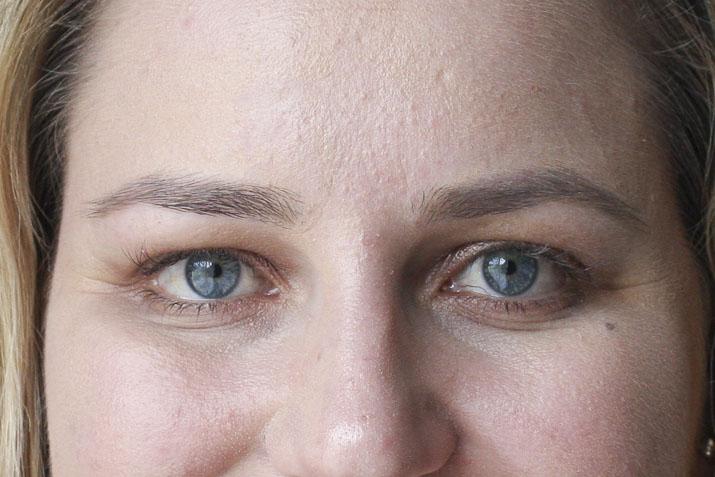 After eyebrow threading - Lena Talks Beauty