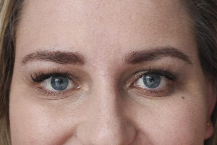 Before eyebrow threading - Lena Talks Beauty