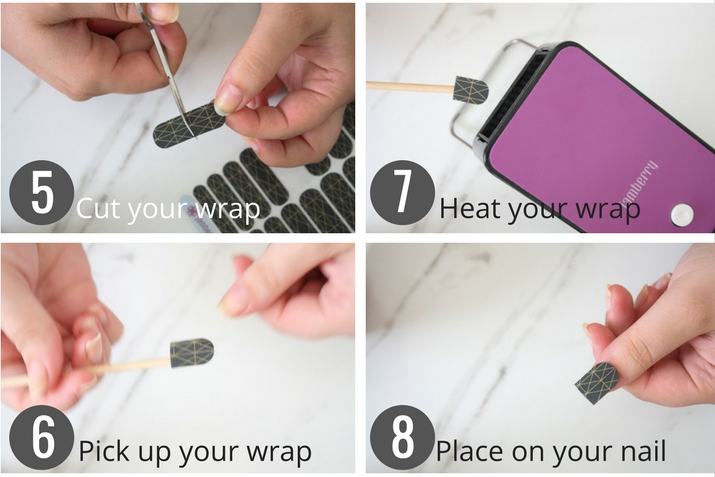 How to apply Jamberry wraps part 2 by Lena Talks Beauty