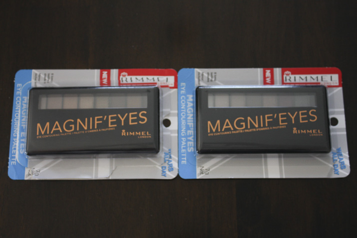 Rimmel Magnif'eyes eyeshadow palettes - Lena Talks Beauty