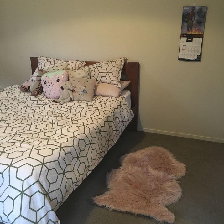 My bedroom - Lena Talks Beauty