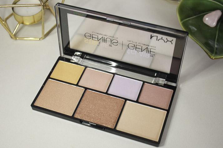 NYX Professional Makeup Strobe of Genius Illuminating Palette - Lena Talks Beauty