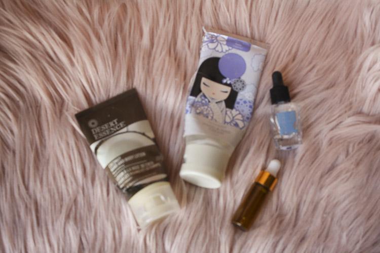 Desert Essence hand lotion, Zoya dry drops, Kimmidoll hand cream - Lena talks beauty