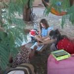 02 Mané, l´initiatrice de la communauté Aquí se celebra la Vida et guérisseuse au Kambô lenaventures