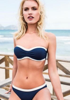 Bikini bandeau 48€