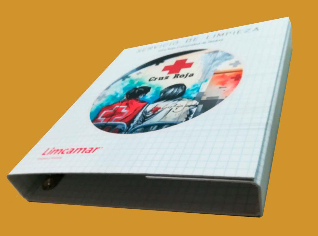 Encuadernación Proyecto Fin de Grado Carpeta con solapa