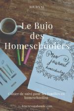 Le bujo des homeschoolers 2019-2020 L'encre vagabonde